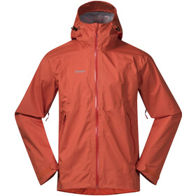 Bergans Letto Jacket Herre lava/br magma